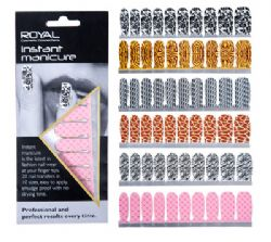 12 x Royal Instant Manicure Nail Wear - Latest In Nail Wear